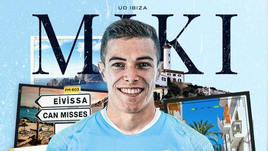 La UD Ibiza hace oficial el fichaje del extremo Miki Villar