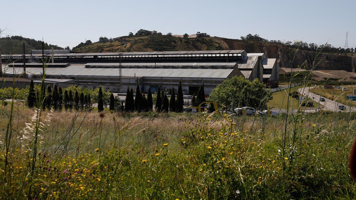 Una de las grandes industrias electrointensivas asturianas.