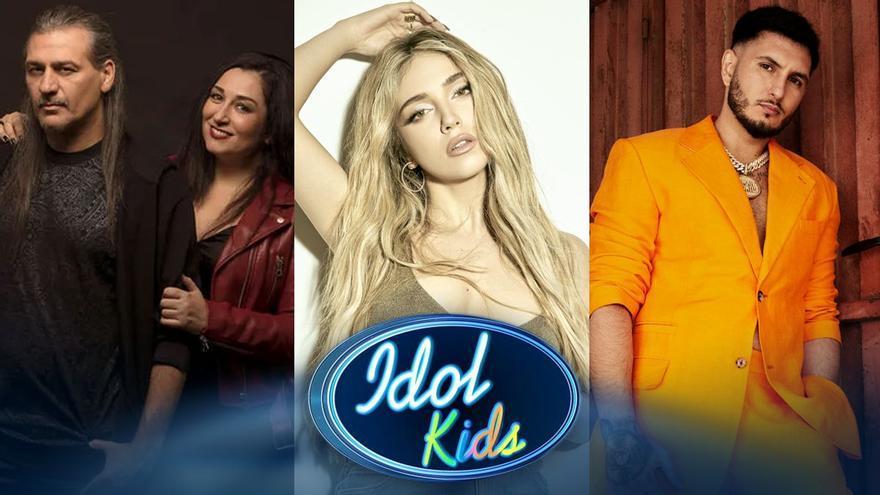 Telecinco hace oficial el jurado de 'Idol Kids': Omar Montes, Ana Mena y Camela