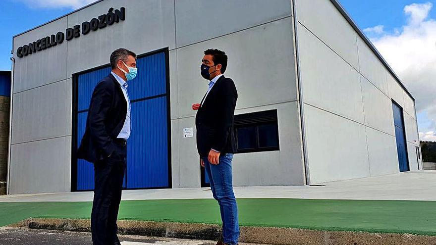 Dozón invertirá 181.000 euros en la urbanización del polígono