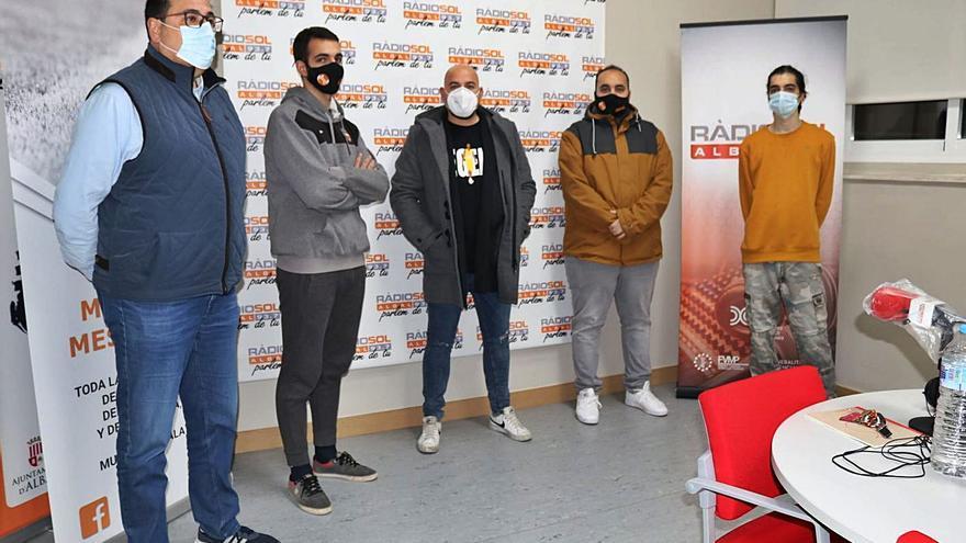 Fran Guaita presenta «Libre» en Radio Sol Albal
