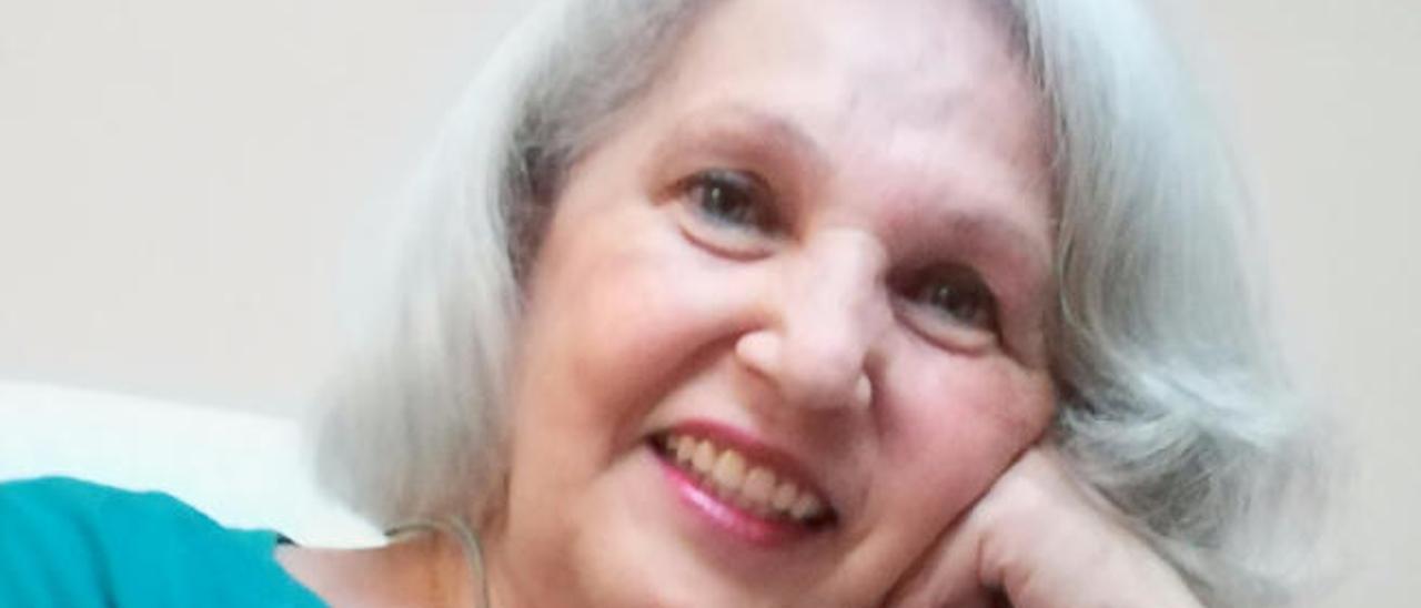 La escritora Teresa Ojeda.