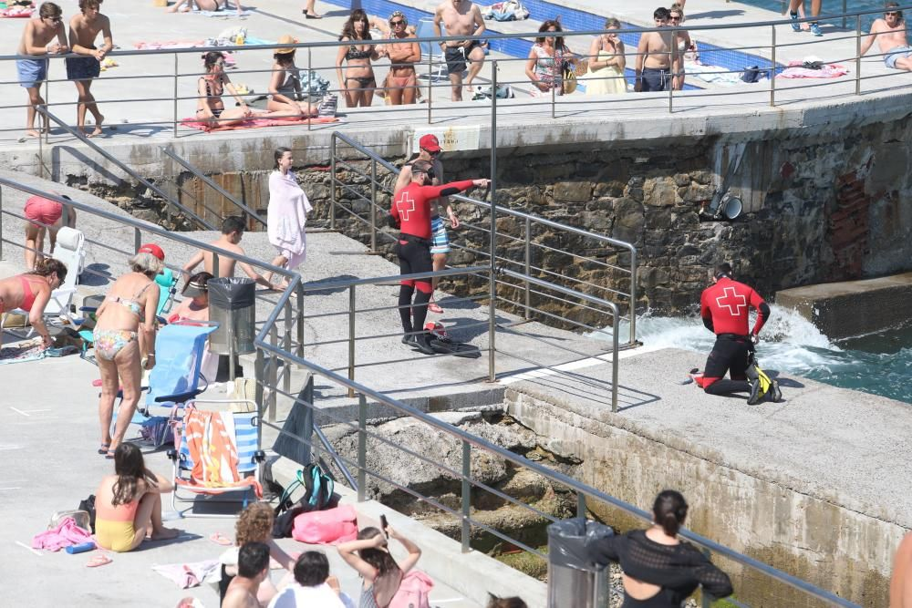 Sucesos: Buscan a un bañista en San Lorenzo