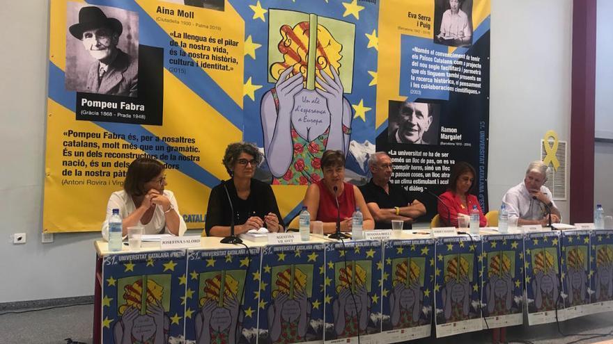 Aina Moll, protagonista en la Universitat Catalana d'Estiu