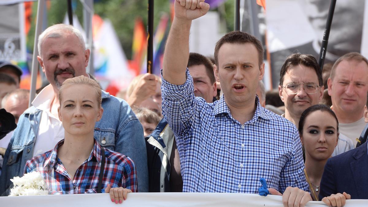 El opositor ruso Alexéi Navalni.