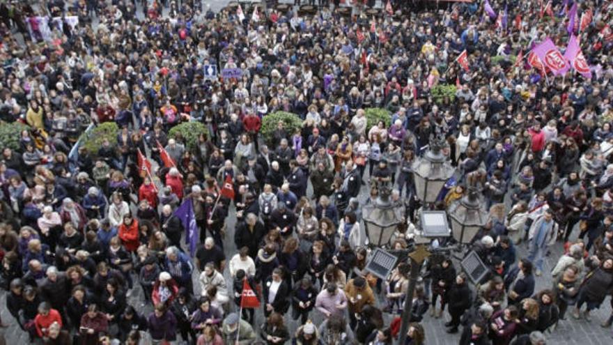 Weltfrauentag: Mallorca geht auf die Straße