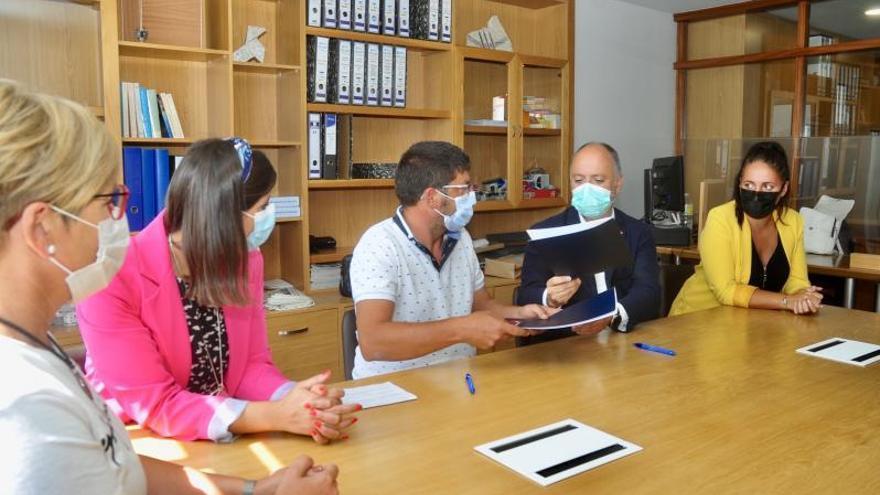 Patronato y Zona Franca se alían para impulsar nuevos proyectos empresariales en Moaña