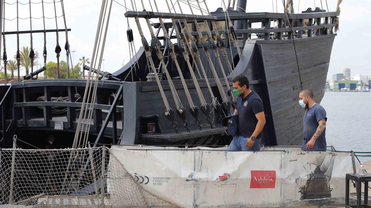 La Nao Victoria atraca en La Marina de València