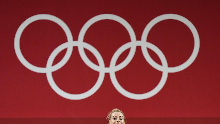 Lydia Valentín se queda a la espera de una difícil medalla en halterofilia