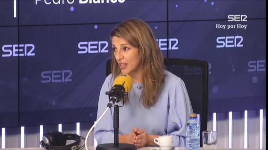 """Díaz dice que se deja """"atrás a quiénes más lo necesitan"""" al no subir el salario mínimo"""