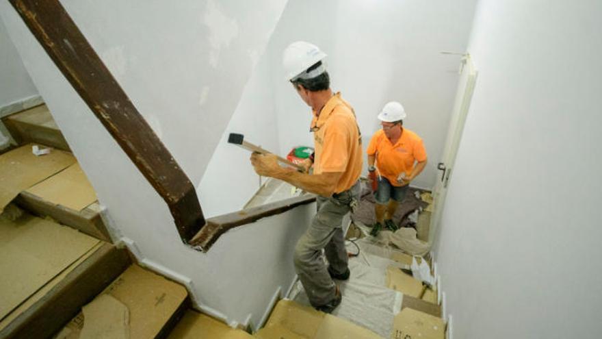 Las reformas en viviendas disparan la economía sumergida en la construcción