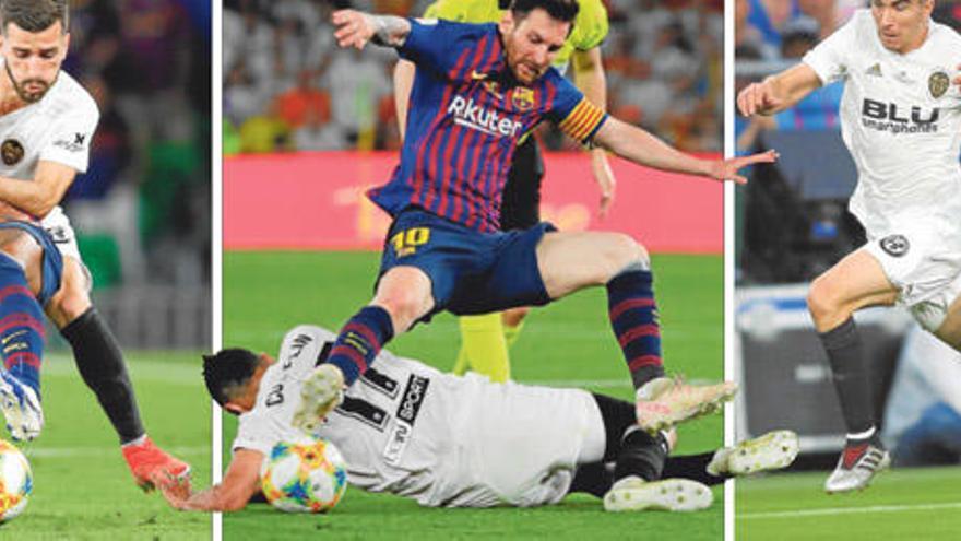 Los automatismos del Valencia CF para vencer al Barça