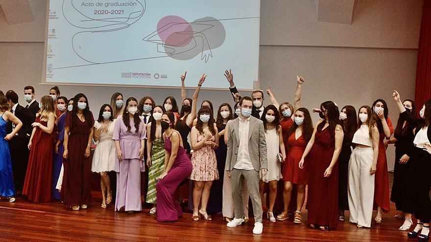 Acto de graduación del alumnado de la Escuela de Enfermería
