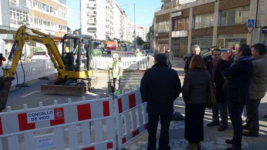 Camelias entra en la última fase de reforma y el Concello renovará también Mantelas
