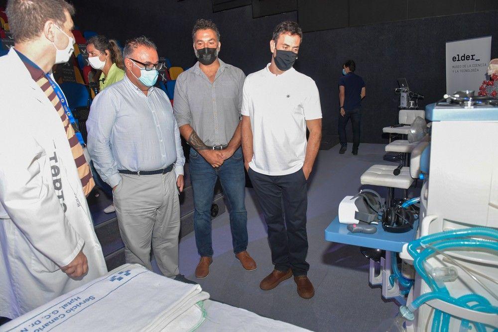 Proyecto de realidad virtual para ponerse en la piel de un paciente de coronavirus