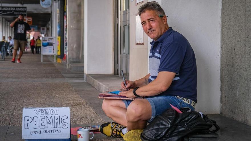 Poemas a un céntimo en Juan Carlos I