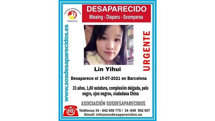 Los Mossos investigan la desaparición de una mujer de 33 años en Barcelona