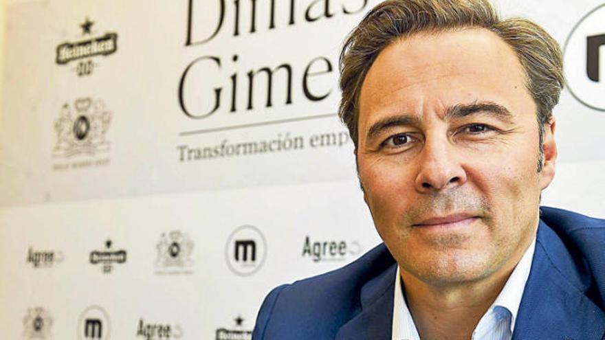 """Dimas Gimeno: """"El turista no se traslada para comprar, hay que acercarle la tienda"""""""