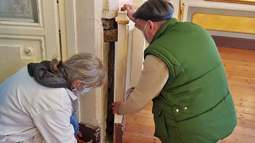 La pandemia dexa restaurar el salón de los espeyos de Les Caldes