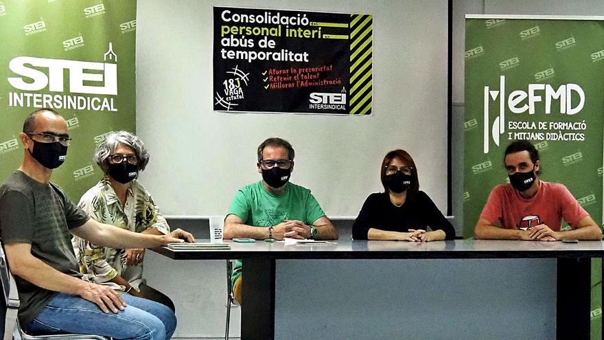 Los trabajadores lanzan una campaña contra el abuso de la interinidad
