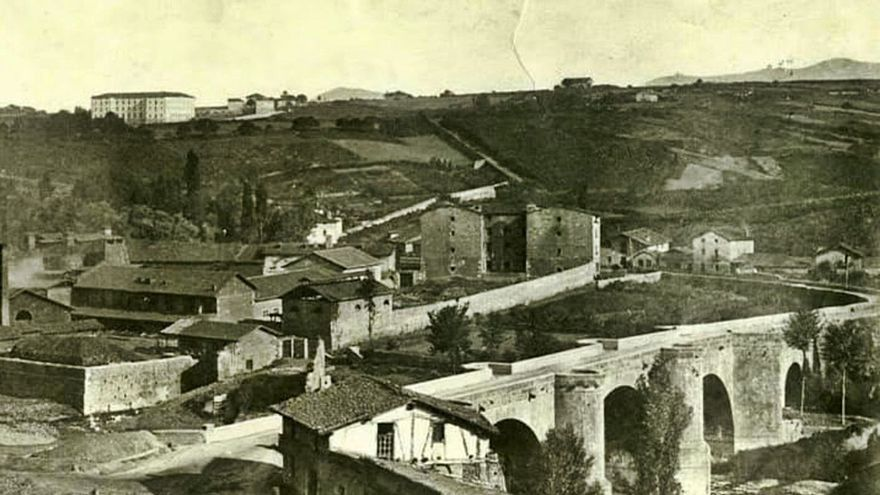 """¡Pobre Asturias!"", afirmó el prócer al dejar Bilbao"