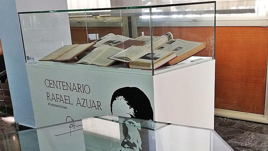 Una exposición bibliográfica para recordar a Rafael Azuar