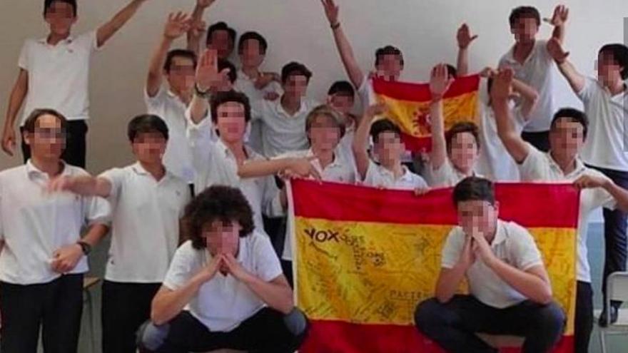 Opus Dei-Schüler schocken Mallorca mit Hitlergruß