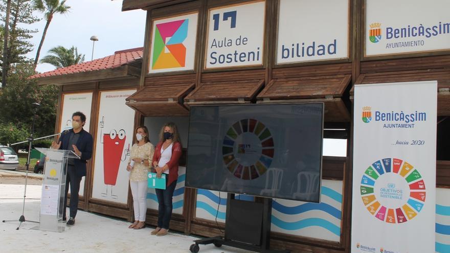 Benicàssim fomenta la educación ambiental con un aula junto al mar