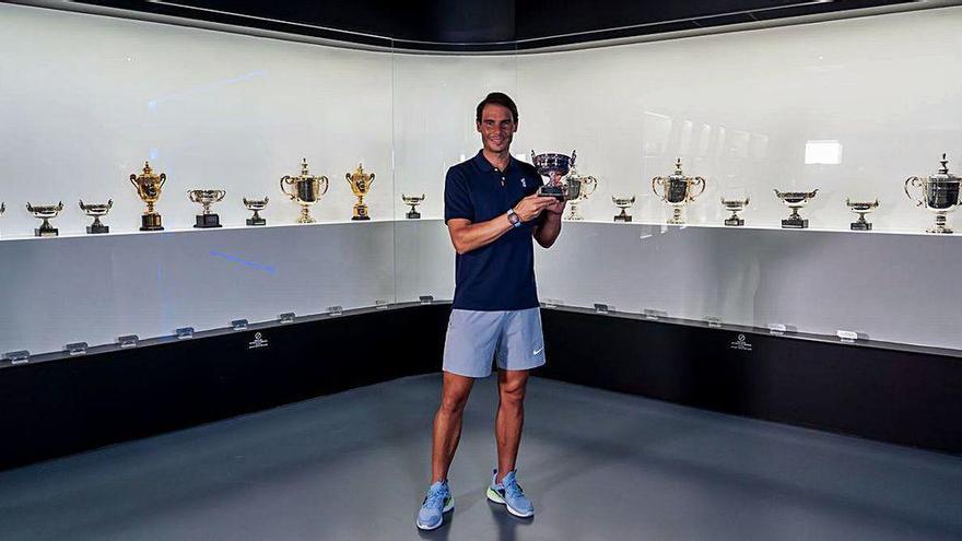 El último Roland Garros ya está en casa de Nadal