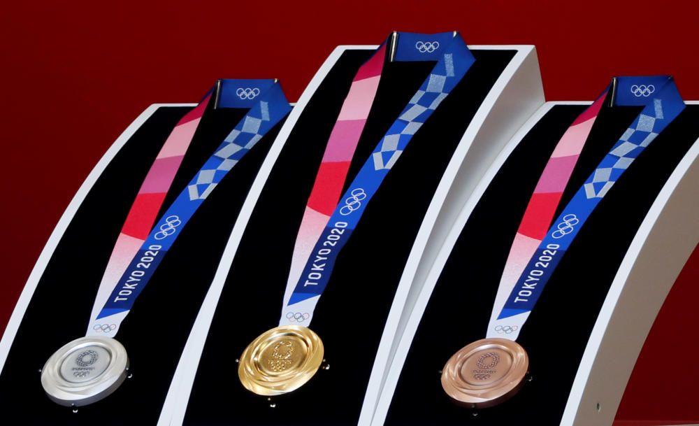 Presentación de las medallas de Tokyo 2020