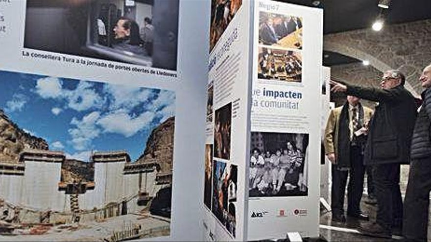 Mig miler de persones ja han visitat a la Plana de l'Om la mostra dels 40 anys de Regió7
