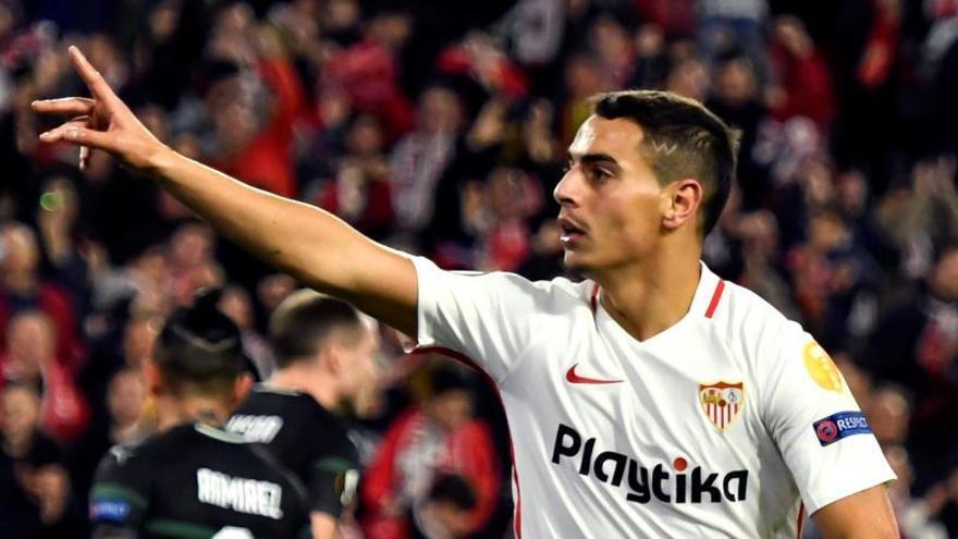 Ben Yedder lidera la goleada del Sevilla ante el Krasnodar