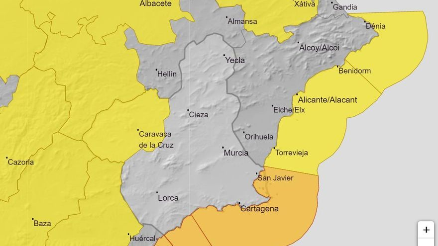 Alerta amarilla y naranja por fenómenos costeros lunes y martes en la Región