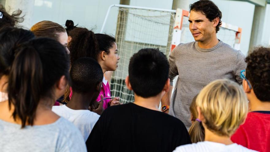 La Fundación Rafa Nadal y Laureus Sport for Good suman fuerzas