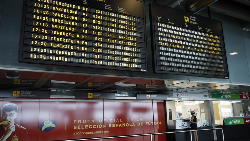 Binter retoma la actividad en el aeropuerto de La Palma