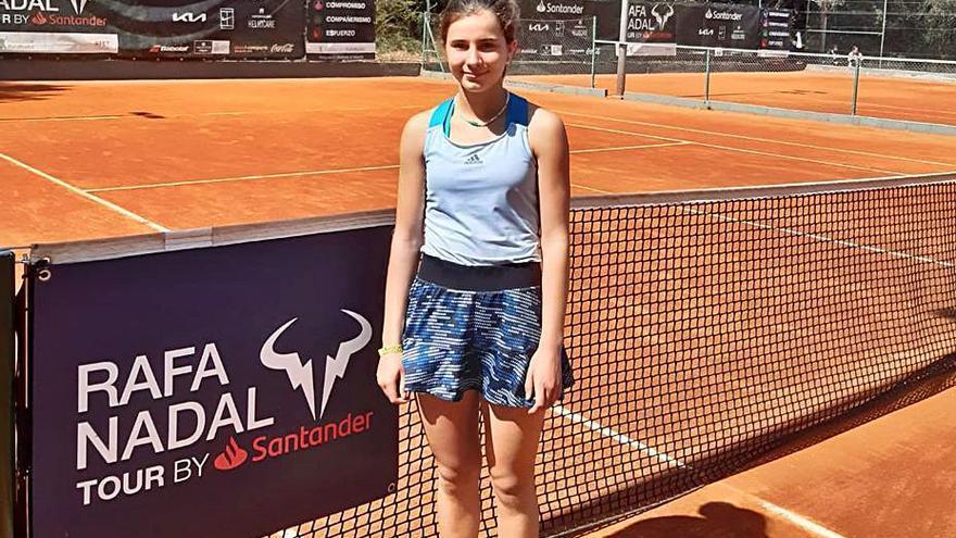 Tenis: nueva final del circuito Rafa Nadal para Eugenia Menéndez