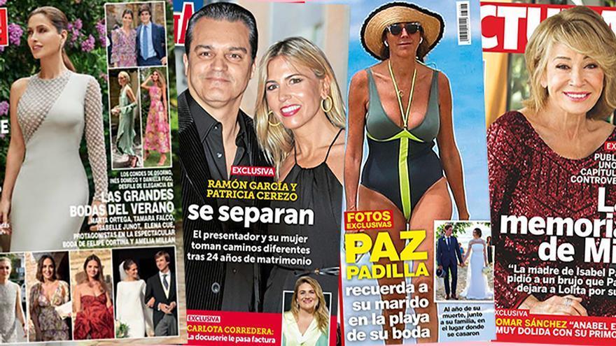 Otra pareja de las clásicas que se va al garete: Ramón García y Patricia Cerezo