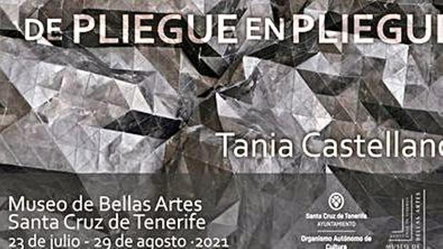 La profesora  de la ULL Tania Castellano expone en el Museo de Bellas Artes