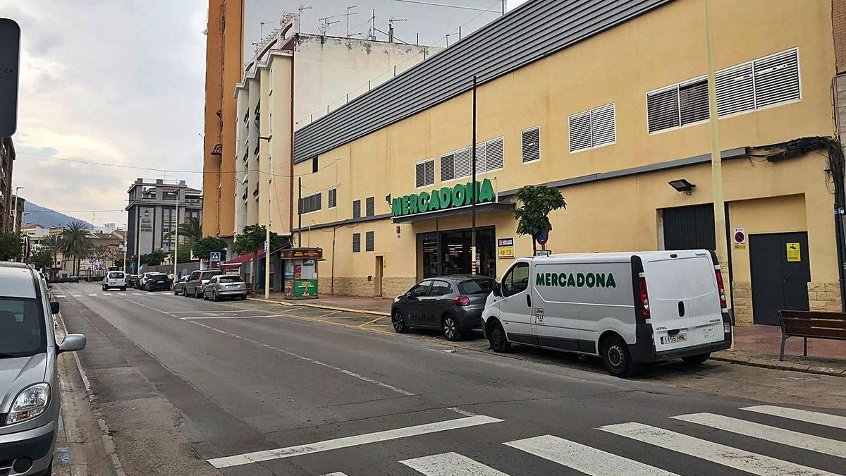 El supermercado Mercadona, situado en la avenida Cor de Jesús, será uno de los beneficiados por la medida.