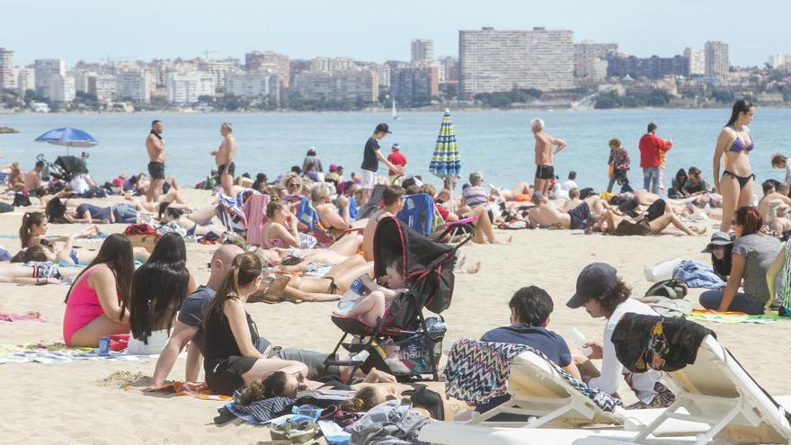 Alicante cierra abril con 17 grados de media y un descenso del 89% en las lluvias