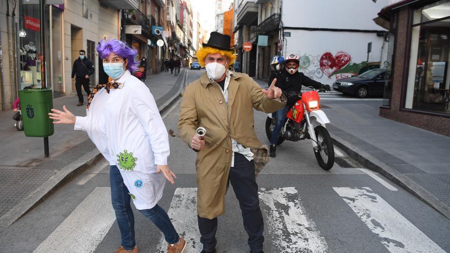 Un Carnaval de neopreno y 'shorts'
