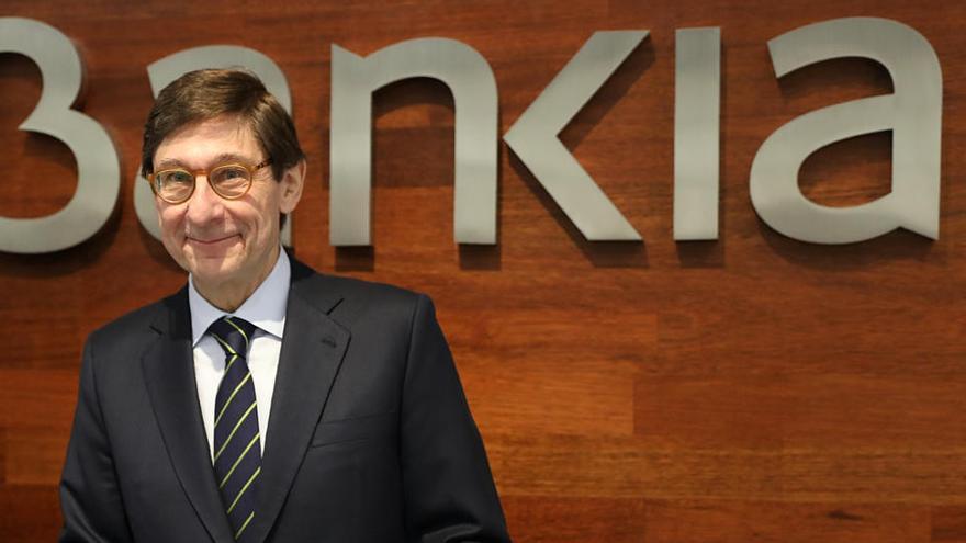 """Goirigolzarri: """"La fusión es nuestra respuesta a los desafíos del sector bancario"""""""