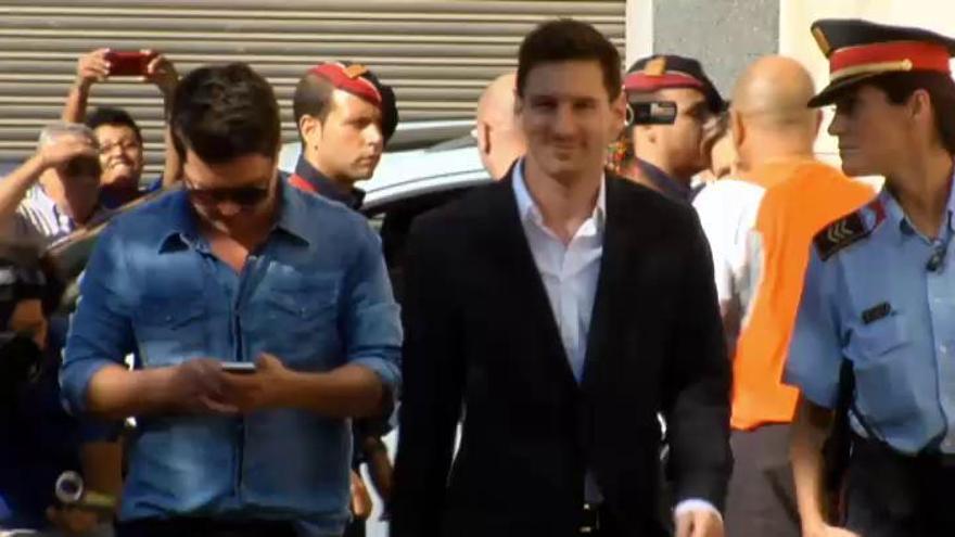 Hacienda investiga si el Barcelona pagó a Messi con donaciones a su fundación
