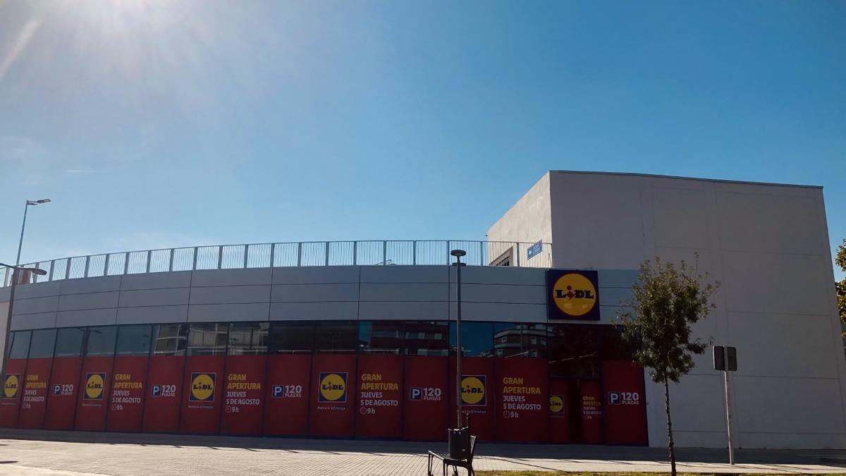 Nueva tienda Lidl en Córdoba en Ctra. de Trassierra.