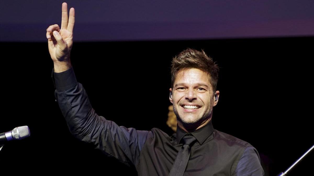 Ricky Martin en una imagen de archivo.