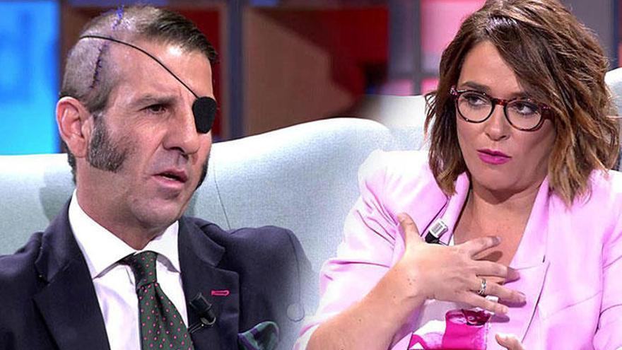 La tensa entrevista entre Toñi Moreno y Juan José Padilla