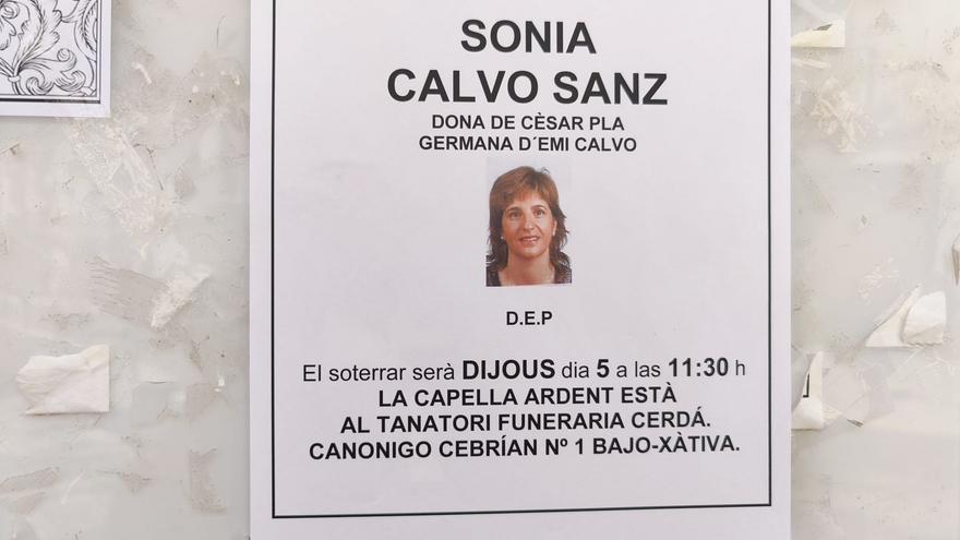 Fallece Sonia Calvo, enfermera del Lluís Alcanyís y esposa del director de la biblioteca de Xàtiva