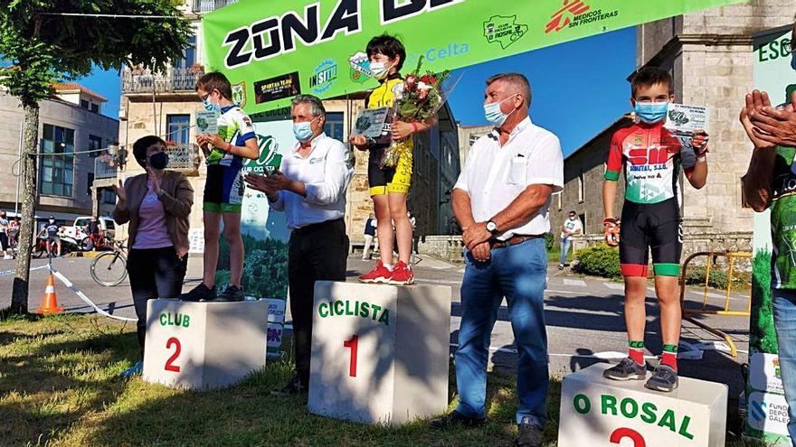 Eloy Lusquiños sube al podio en el Trofeo Montes do Rosal