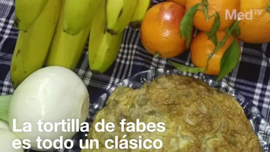 Así se prepara la mejor tortilla de fabes, imprescindible en Magdalena