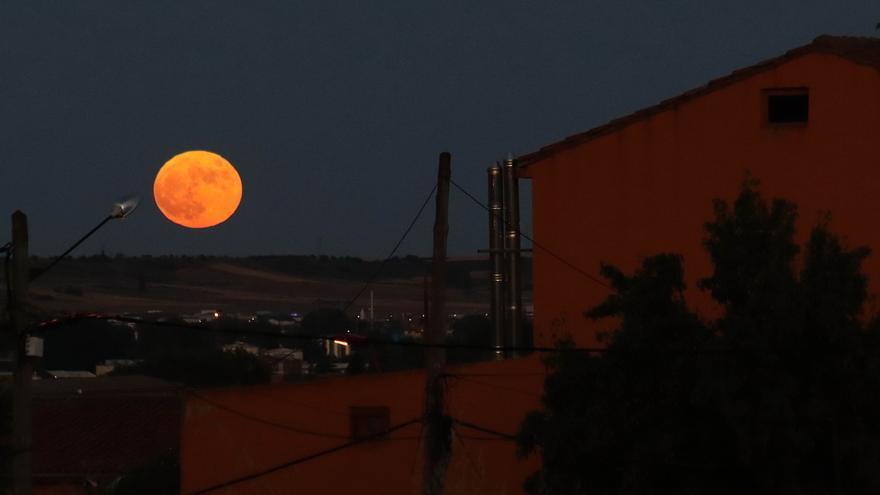 Galería: Así se vio la luna de fresa en Castilla y León